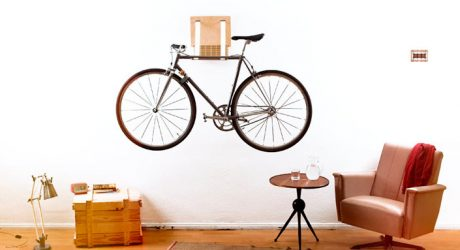 .flxble Wall Mounted Bike Rack