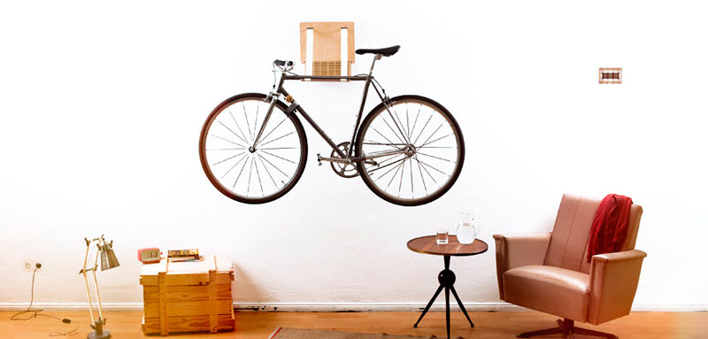 .flxble Wall Mounted Bike Rack