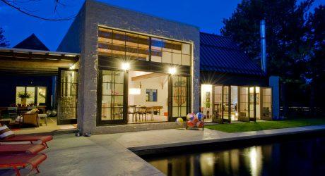 Folly Farm: Modern + Traditional Hybrid Meets Indoor-Outdoor Living
