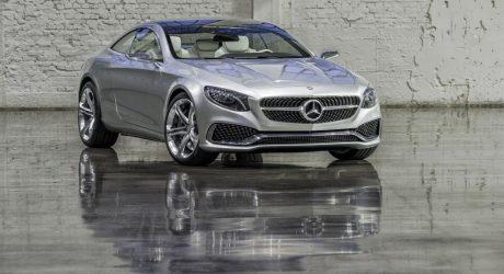 Mercedes Concept S-Class Coupé: Designing Sensual Clarity