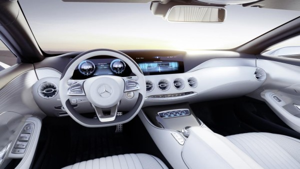 Mercedes Concept S Class Coupé: Designing Sensual Clarity in technology main  Category