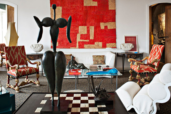 12 Rooms that Showcase Sculpture in main interior design Category