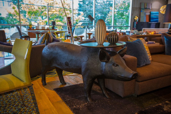 Pig table by Moooi.