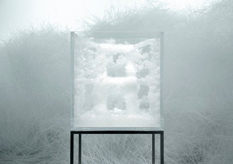 Growing Chairs: Spider's Thread by Tokujin Yoshioka