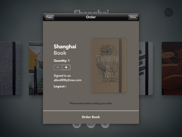 Custom Printed Books You Design From an iPad App in technology style fashion main  Category