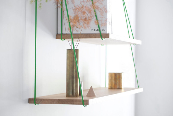 A Suspension Bridge Inspired Shelving Unit in main home furnishings  Category