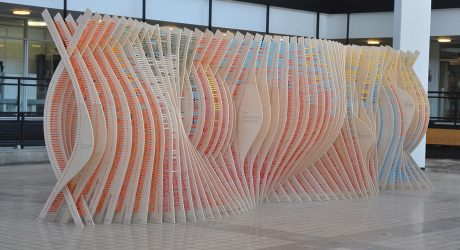 An Installation Made from 8,080 Colored Pencils