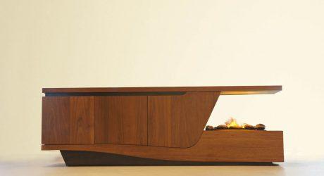 Fireplace Storage Units by Davide Tonizzo