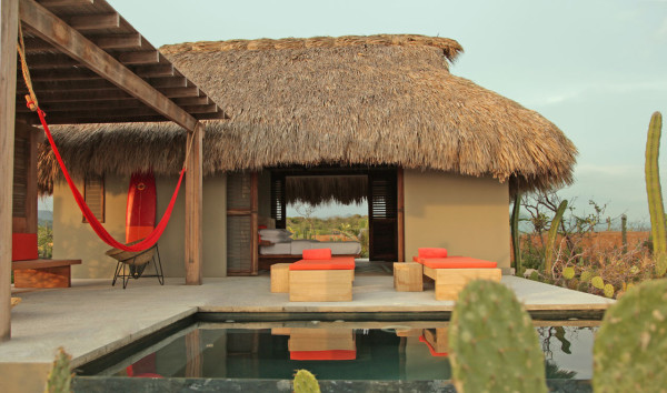 A Secluded Beach Hut Village on Mexico's Coast