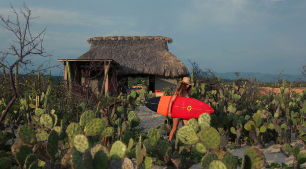 A Secluded Beach Hut Village on Mexicos Coast in main interior design architecture  Category