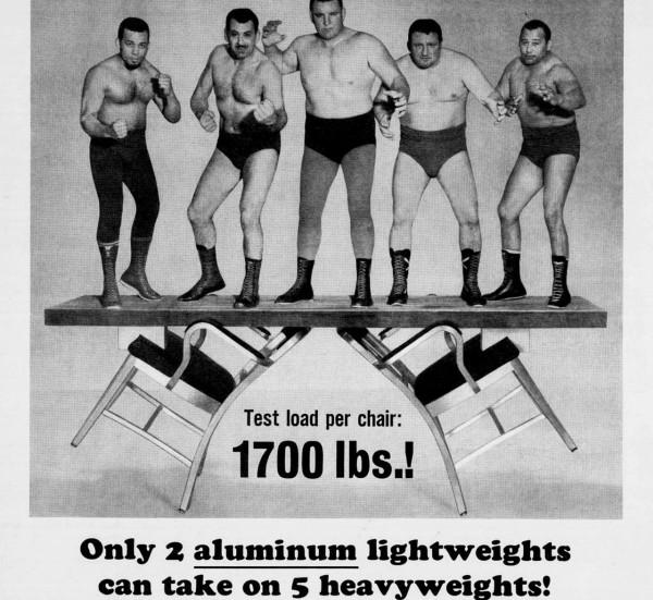 Emeco 1950 Ad Lightweight Vs Heavyweight