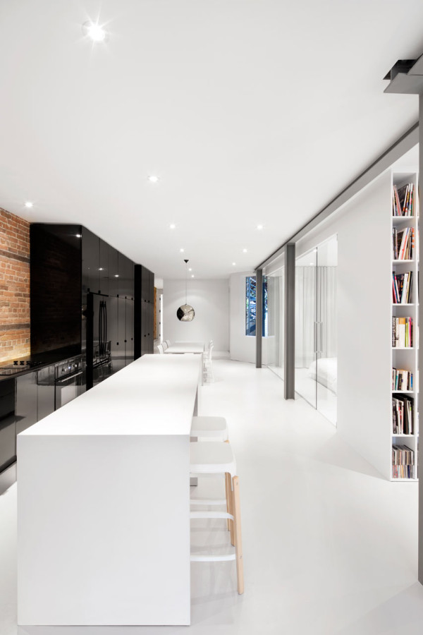 From a Storefront to a Condo in Montreal in main interior design architecture  Category