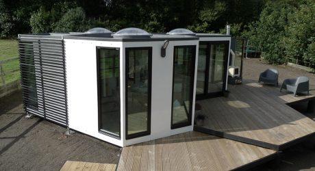 HIVEHAUS® – A Modular Hexagonal Home By Barry Jackson