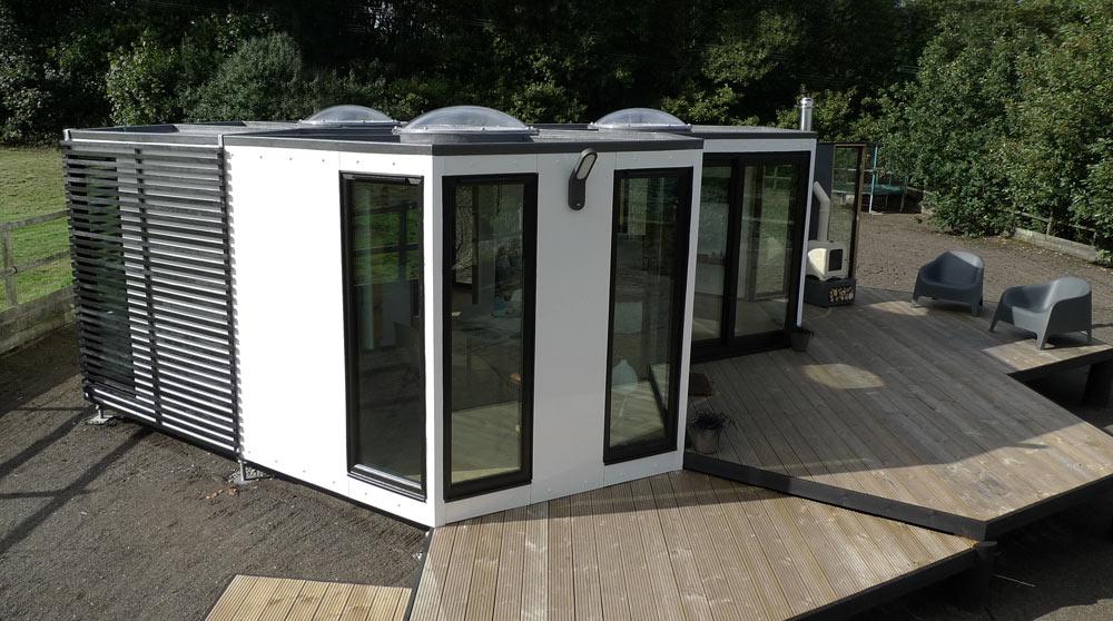hivehaus a modular hexagonal home by barry jackson - Modular House
