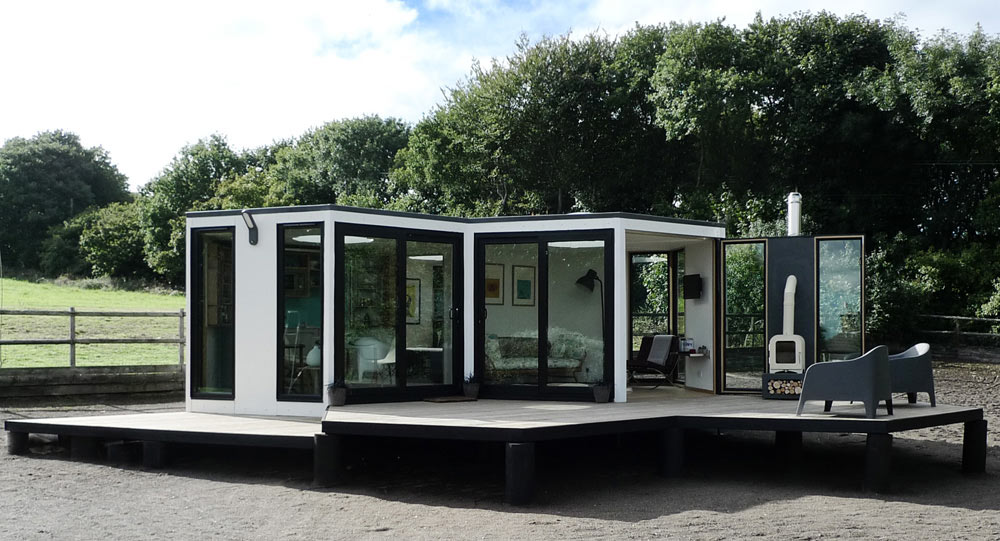 wonderful hive homes #1: HIVEHAUS - Modular Housing by Barry Jackson