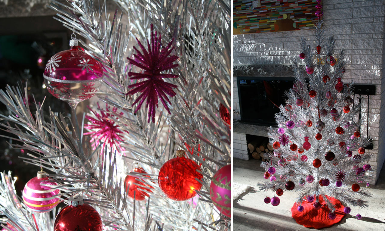 15 modern christmas decorating ideas - Pink Christmas Decorations Ideas