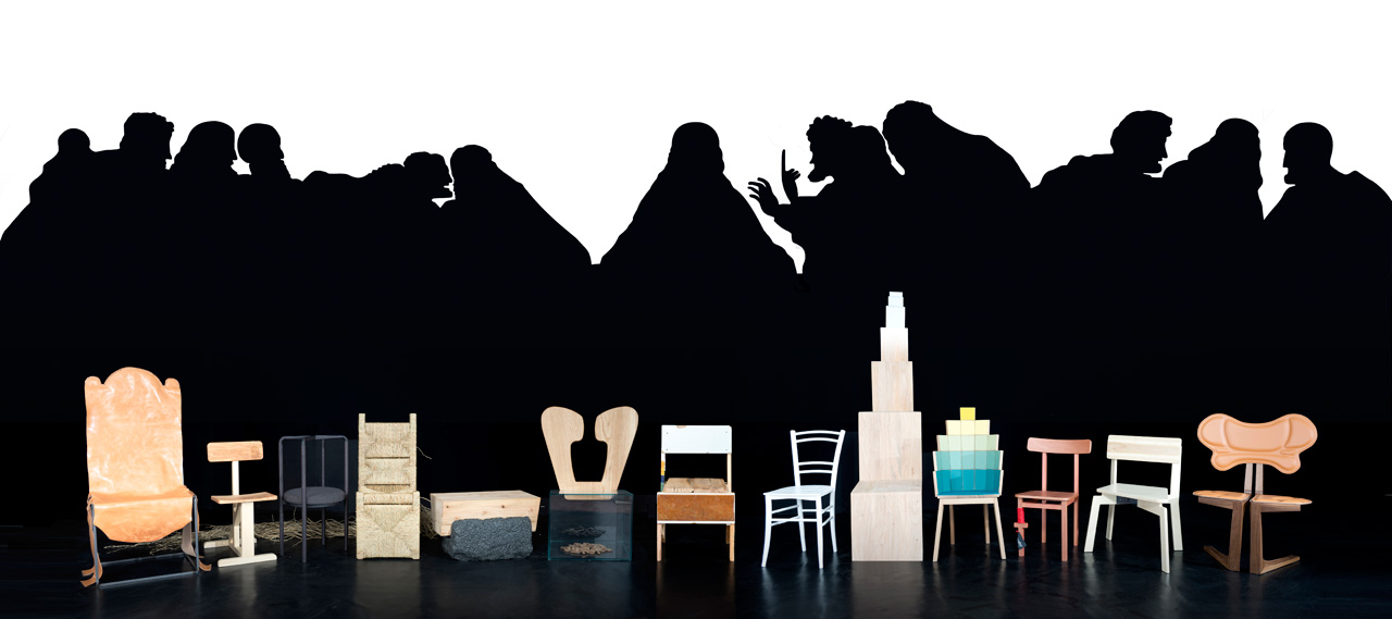 The 13 Chairs That Were Never Painted in The Last Supper ...  sc 1 st  Design Milk & The 13 Chairs That Were Never Painted in The Last Supper - Design Milk