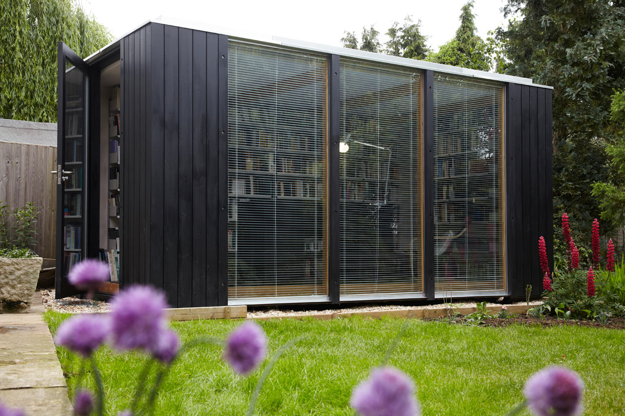 a backyard library by 3rdspace design milk