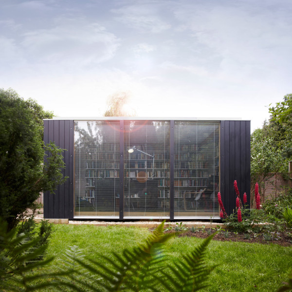 A Backyard Library by 3rdSpace in main architecture  Category