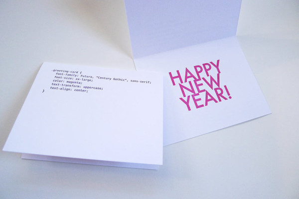 14 Cards To Wish Someone A Happy New Year in style fashion main art  Category
