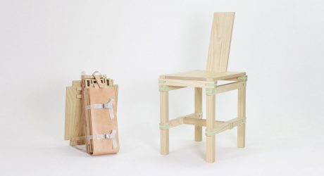 Nomadic Chair: A Temporary Seat for One Person