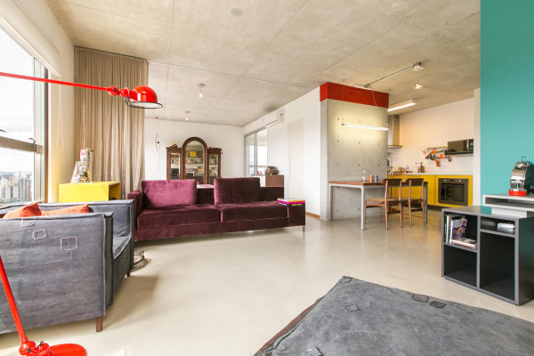 An Open Apartment in Brazil Full of Raw Materials in main interior design architecture  Category