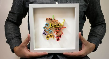 What Wood You Say? Custom Hand-Cut Framed Art