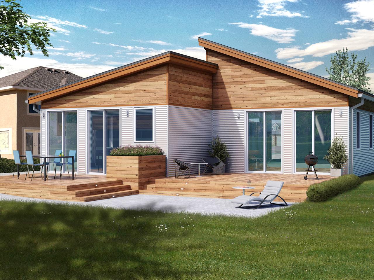 Blu Homes Balance Metro Designed for Narrow Lots