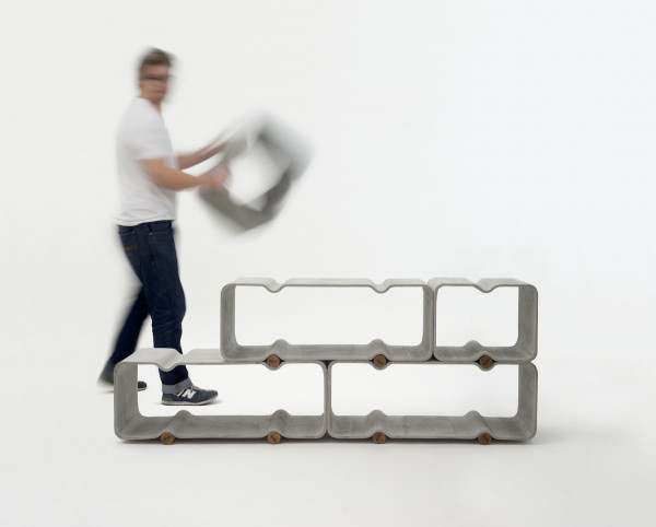 Basso Shelf System by Thomas Feichtner