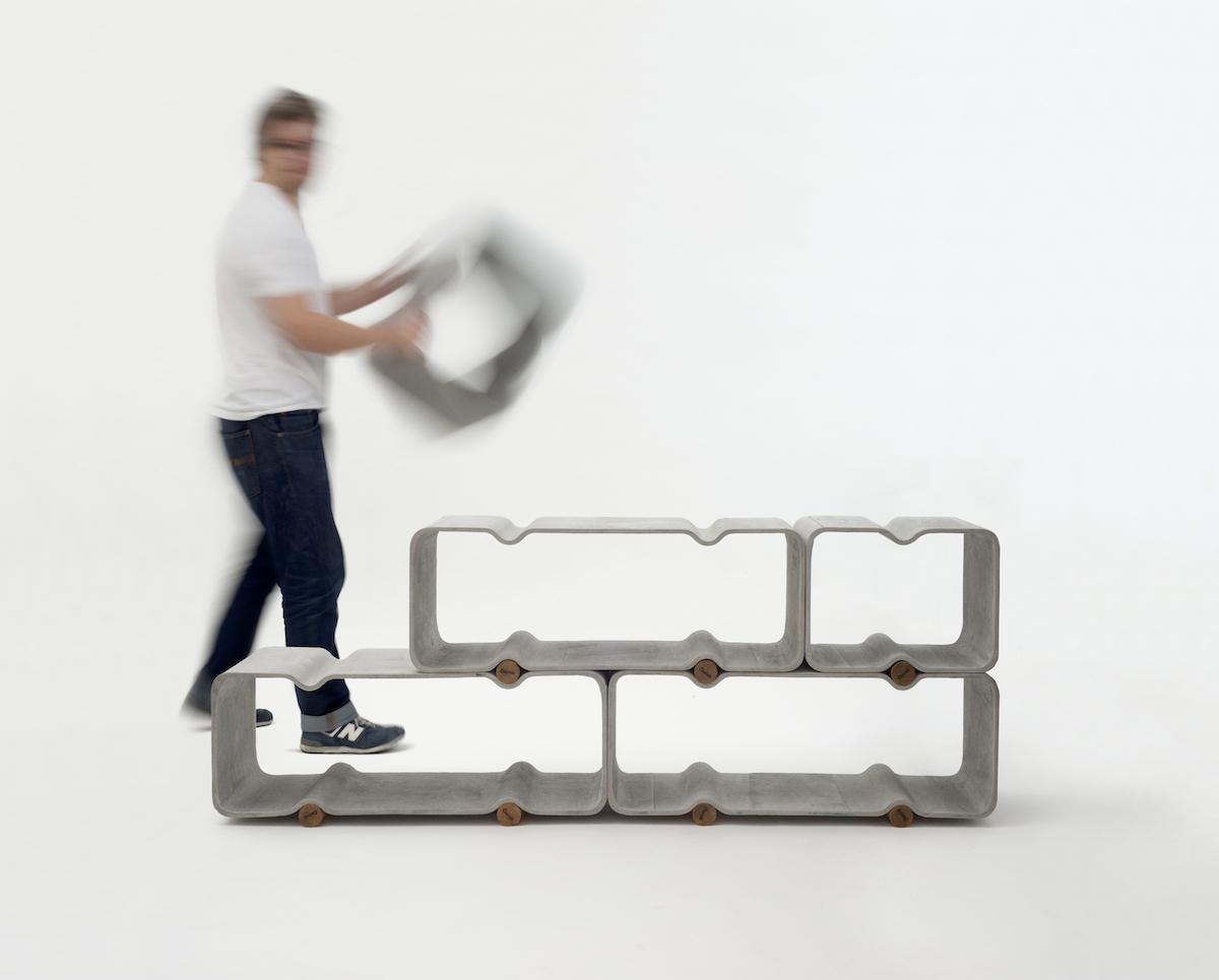 Basso Shelf System by Thomas Feichtner