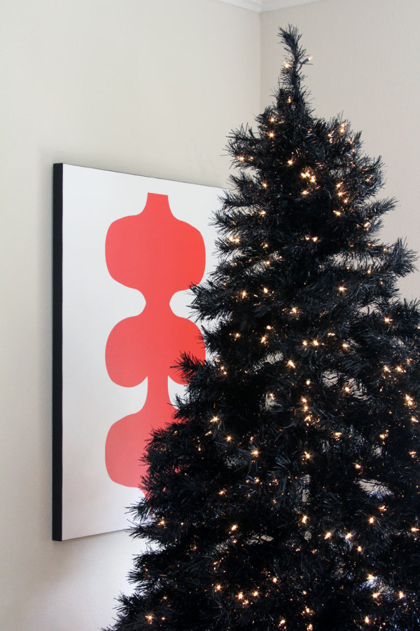 Modern Black Christmas Tree - Treetopia