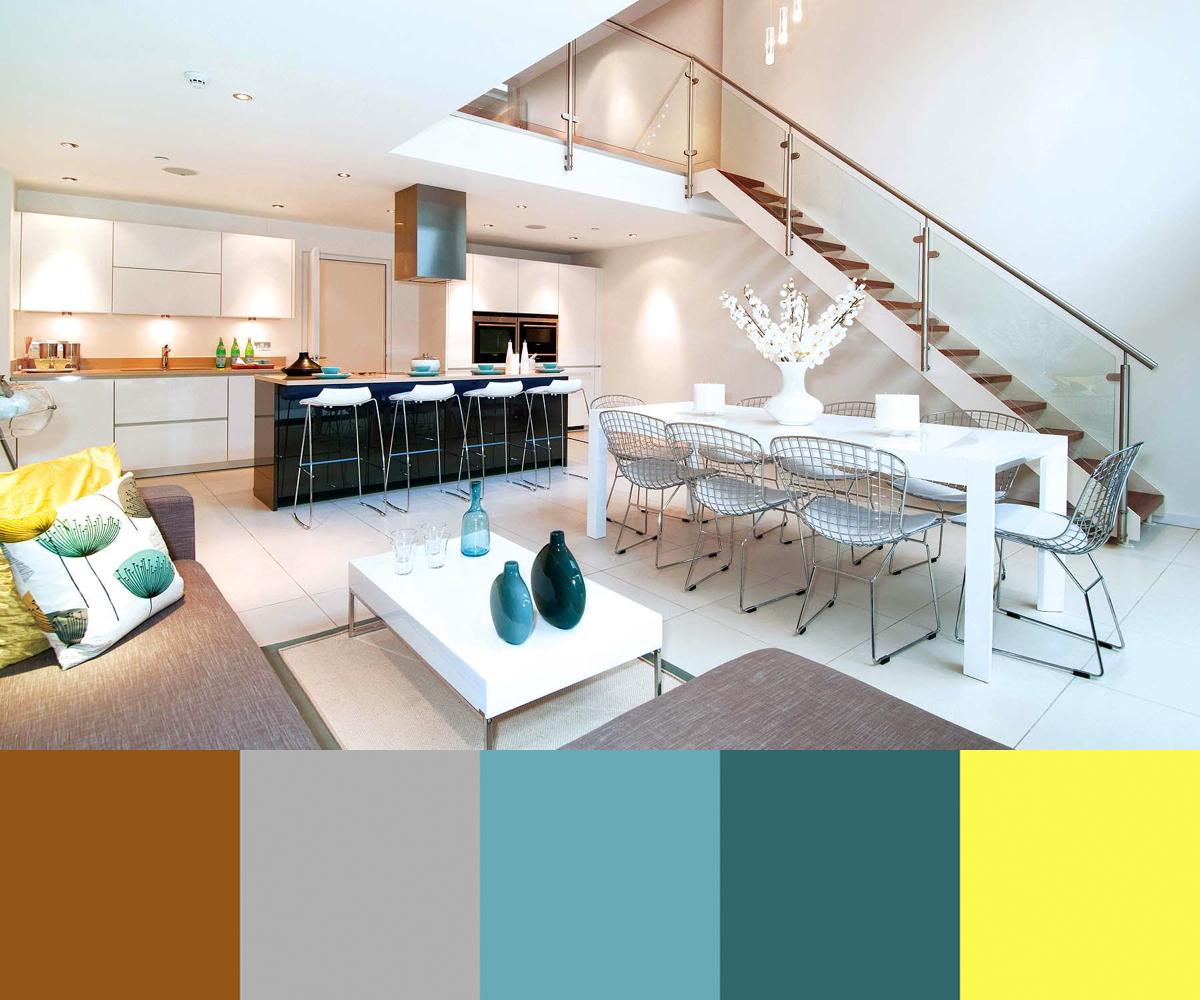 Three Mid Century Inspired Interiors By LLI Design ...