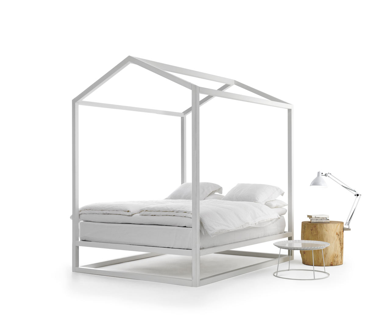 Casetta House-Shaped Bed by Mogg