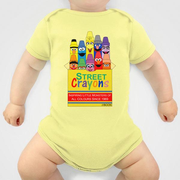 sesame-street-crayons-artist-baby-onesie