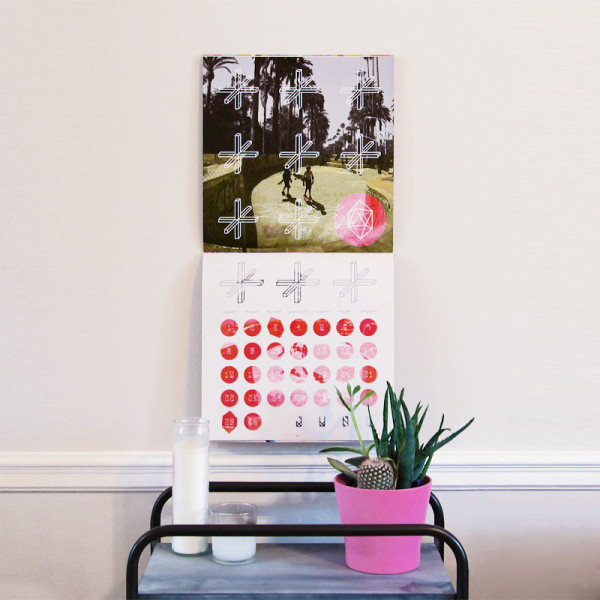 Fresh From The Dairy: Society6 Artist Calendar 2014 in main home furnishings art  Category