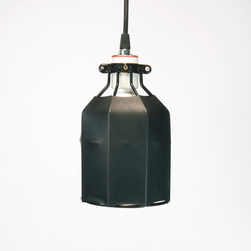 tube-pendant-over-steel-wire-cage-light
