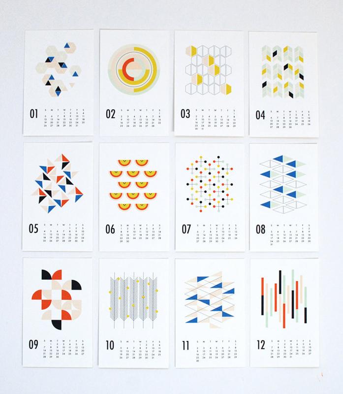 """backReturn to """"25 Modern Calendars for 2014"""""""