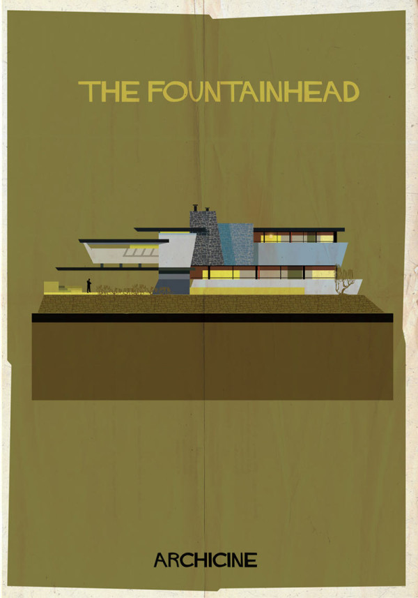 Cinematic Architectural Illustrations by Federico Babina in main art architecture  Category