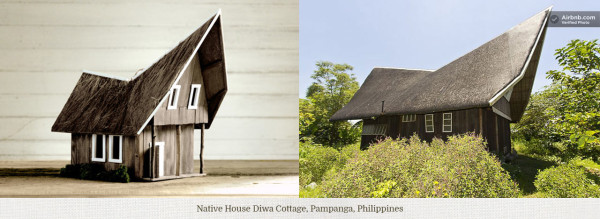 Birdbnb: Birdhouse Models of Real Airbnb Listings in architecture  Category