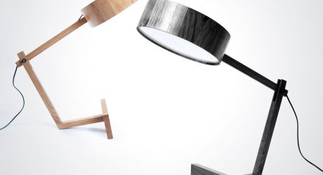 A Simple Wooden Lamp Named Bob