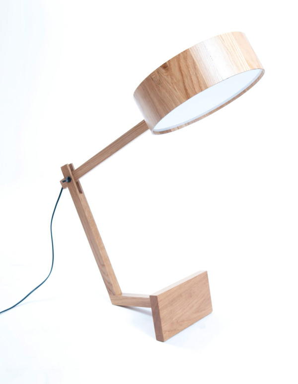 A Simple Wooden Lamp Named Bob Design Milk