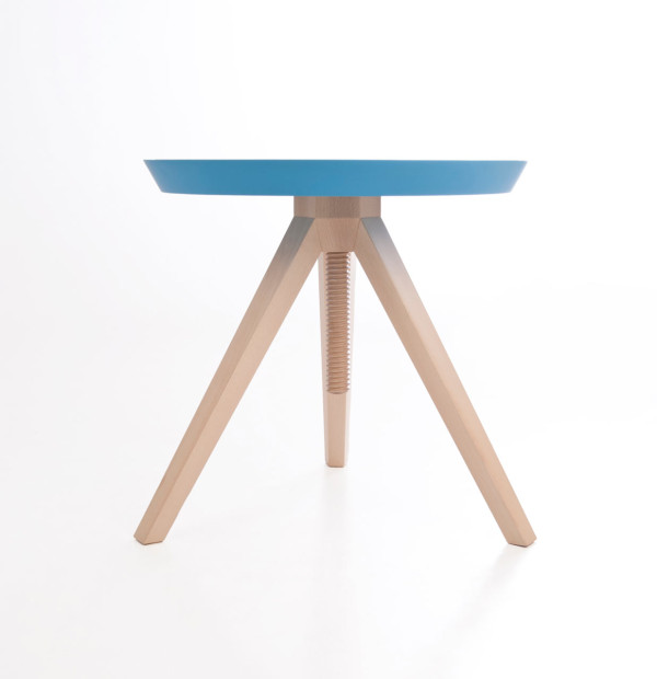 Giros: A Customizable Table with Two Surfaces in main home furnishings  Category