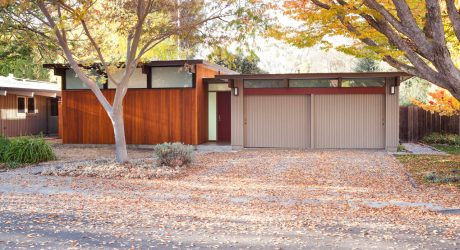 A Front Expansion on an Eichler House by Klopf Architecture