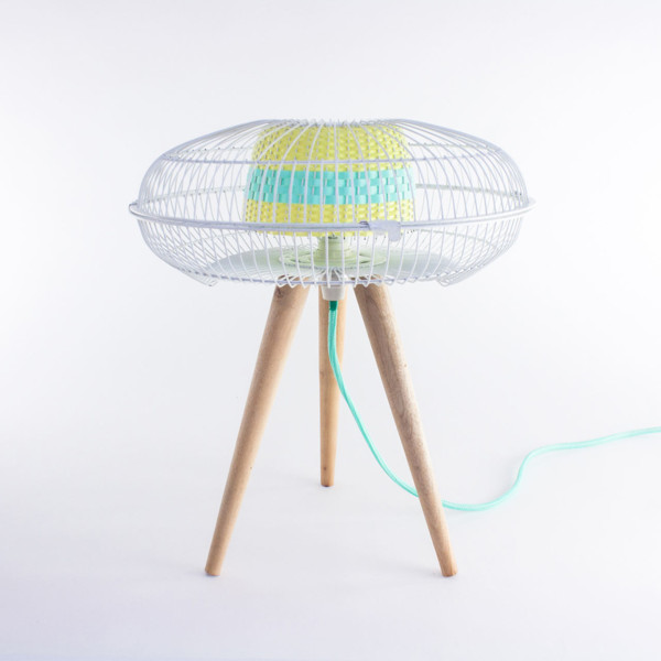 Fantasized: Discarded Fans Become Lighting in main home furnishings  Category