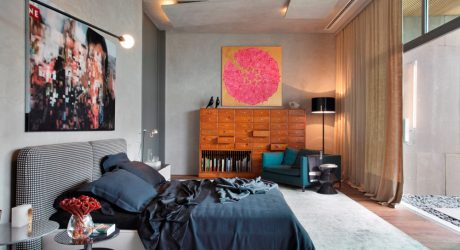 A Master Suite Designed for Privacy and Intimacy