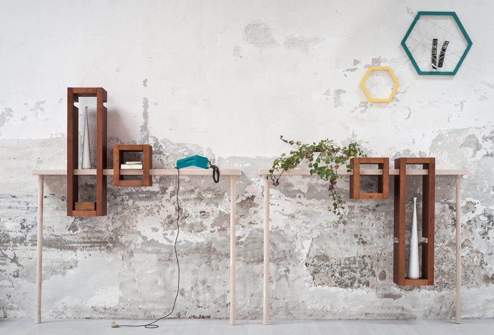 A Modular Console Table Named Iggy ...