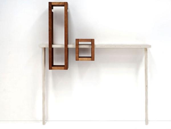 a modular console table named iggy   design milk