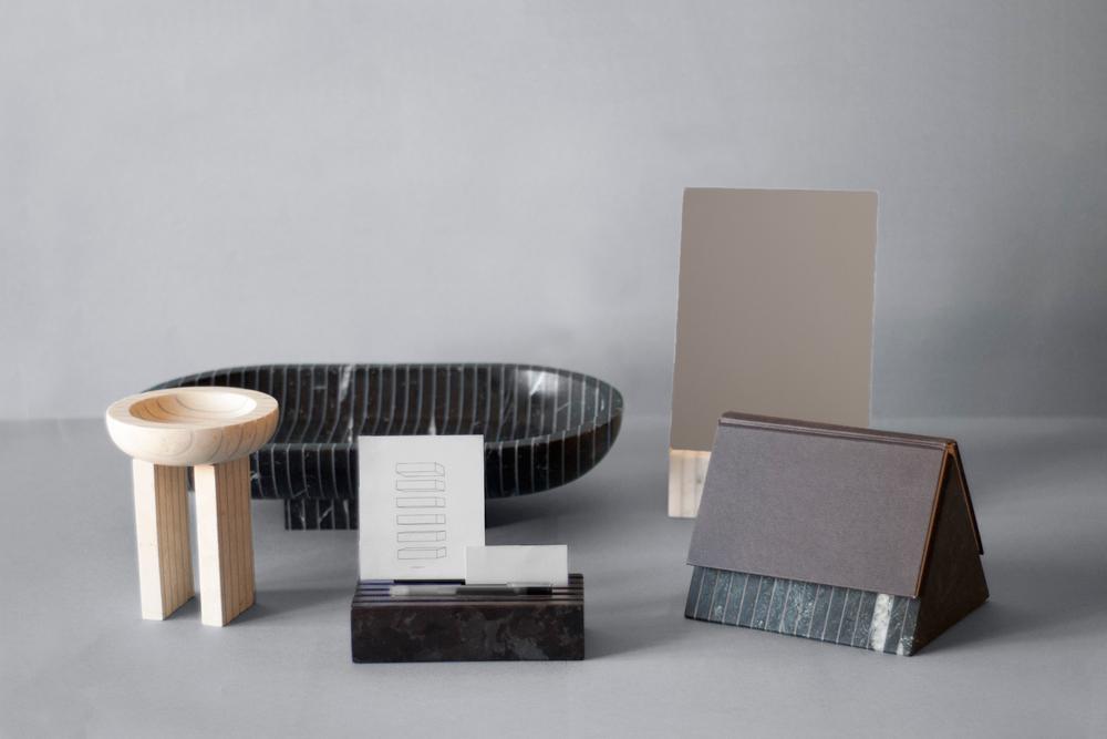 Stratifications: Marble Objects by Krzysztof J. Lukasik