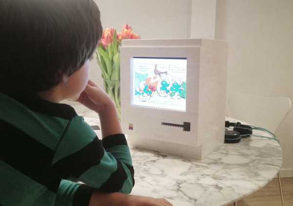A LEGO 1984 Classic Macintosh Built for the iPad - Design Milk