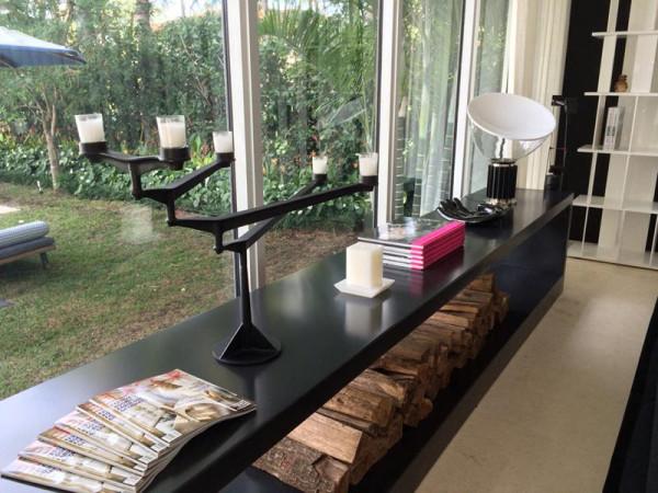 Tom Dixon candelabra in the Elle Decor Modern Life Concept House
